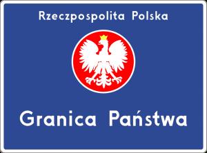 granica polski znak